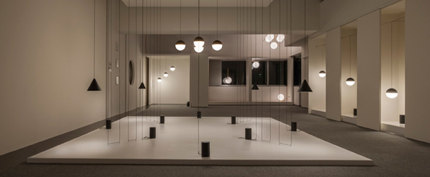 String & IC Lights Installation by Michael Anastassiades