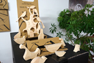MESSAGE TREE PERCHED BIRD PUZZLE 8500