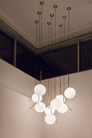 String Amp Ic Lights Installation By Michael Anastassiades