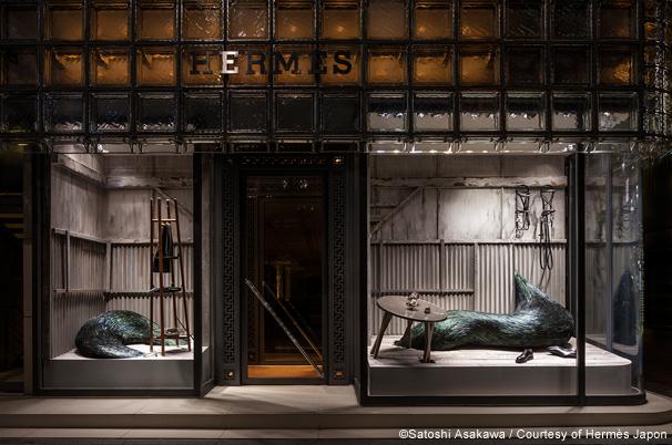 Ginza Maison Hermès | 東京ショーウィンドウ