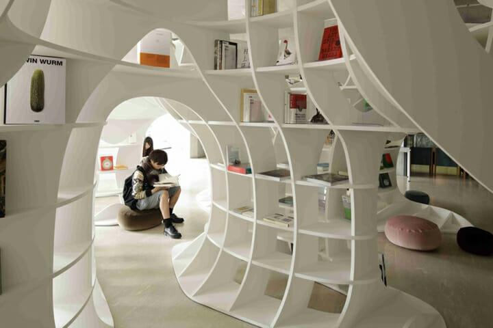Cave of Books(本の洞窟)