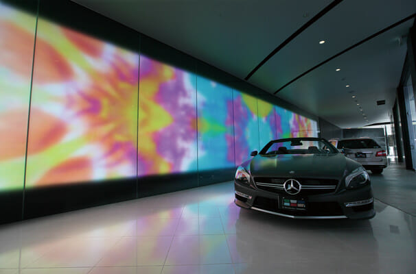 Movie Wall for Mercedes-Benz Connection