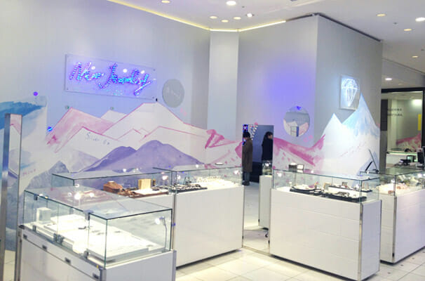 New Jewelry Pop-up Store