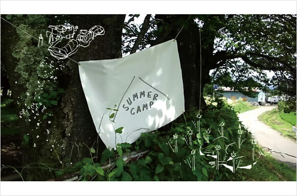 SUMMER CAMP somera kampado 展 (3)
