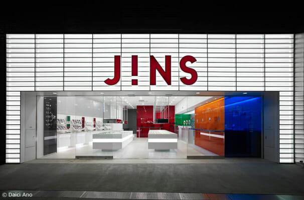 JINS 原宿店