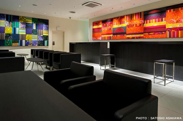 銀座グランドホテル フロントロビー アートワーク (4)