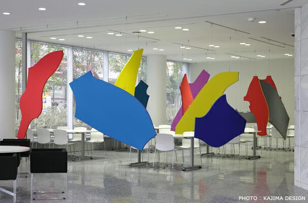 デサント大阪オフィスパーティション