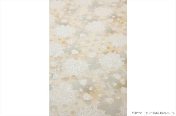 sticky fabric / snowflake (3)