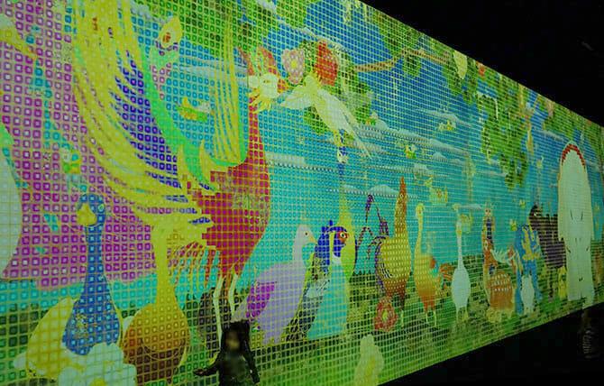 「チームラボ 踊る!アート展と、学ぶ!未来の遊園地」二つのプロジェクトが集結した大規模展示