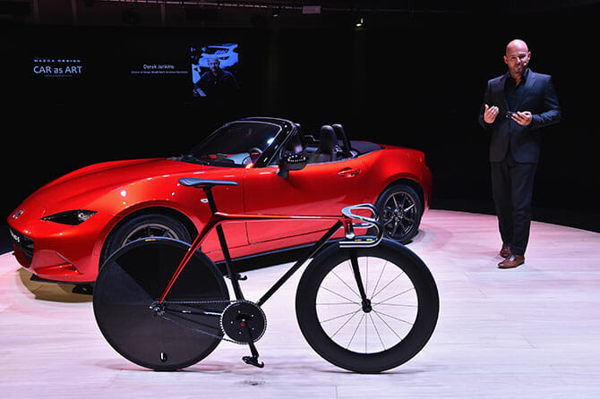 Bike by KODO concept、Stefania D'Alessandro/Getty Images for Mazda Motor Co.