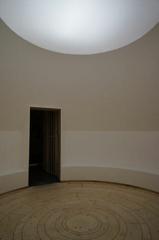 LEXUS – A JOURNEY OF THE SENSES 木をイメージした部屋、観覧者自らが部屋の中心に立ち、木になるイメージ