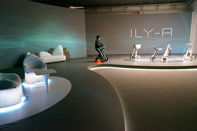 AISIN - Imagine New Days ロボット技術集団・千葉工業大学fuRoとのコラボレーション、4変型するモビリティ