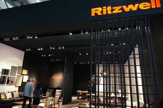 ミラノデザインウィーク4/17速報〜Salone del Mobile.Milano(ミラノサローネ国際家具見本市12:Ritzwell) (3)