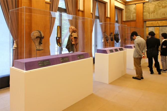 アフリカ地域の展示