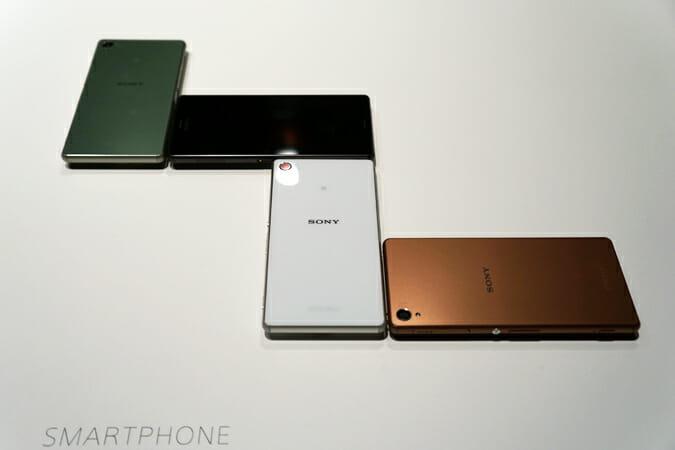 スマートフォン「Xperia Z3」