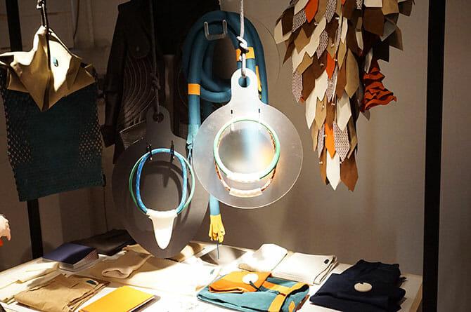 LEXUS DESIGN AWARDプロトタイプ展示「Sense-Wear」Caravan:エマヌエル コルティ氏(イタリア)、イヴァン パラティ氏(イタリア)