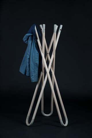 「KC1_CLIP Coat rack」Out for Space(ドイツ)