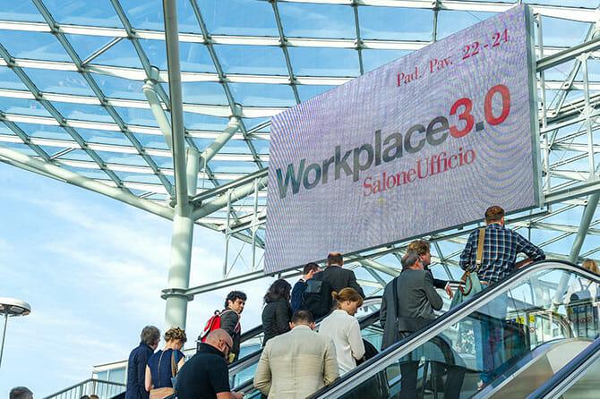 オフィス(Workplace3.0)の入口、Photo by Alessandro Russotti