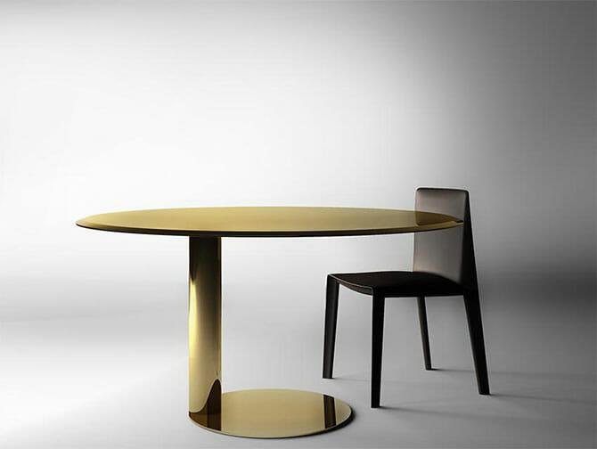ガブリエーレ&オスカー・ブラッティのラウンドテーブル「Oto」(Gallotti&Radice)