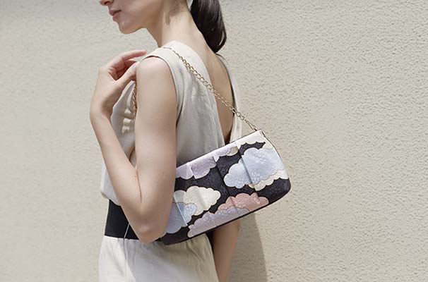 Yuzen Clutch Bag(瑞雲柄) (4)