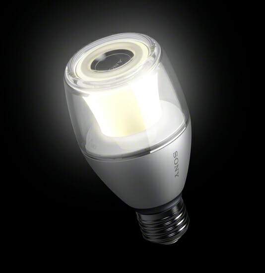 ソニー LED電球スピーカー LSPX-100E26J (4)