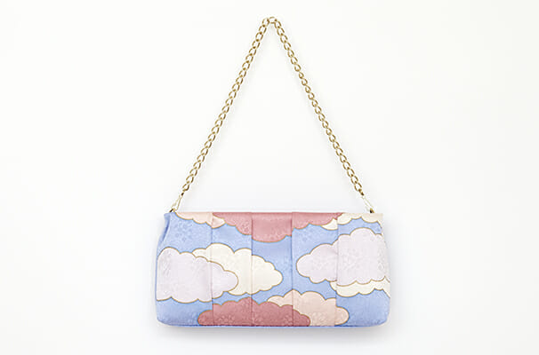Yuzen Clutch Bag(瑞雲柄) (5)