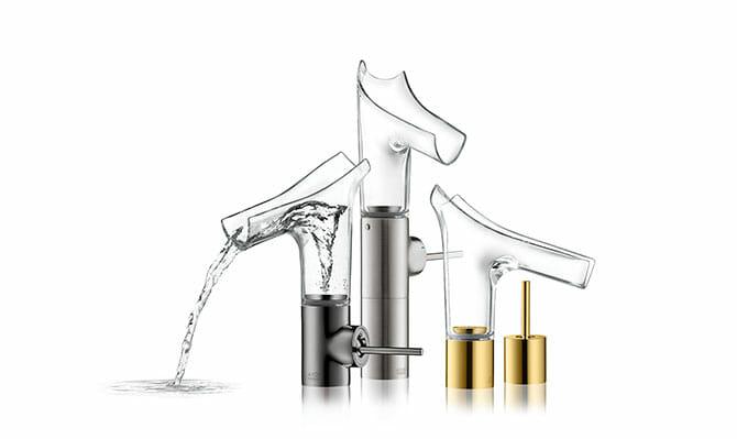 アクサー スタルク V 混合水栓(下部記載価格は左の水が流れているモデル)