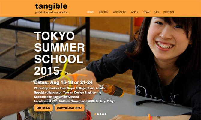 クリエイティブなアイデア創出のテクニックをRCA教員から学ぶ、「Tangible – Tokyo Summer School 2015」