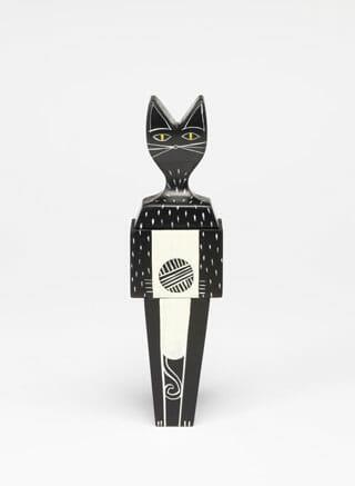 アレキサンダー・ジラルドの「Wooden Dolls Cat and Dog」(Vitra)