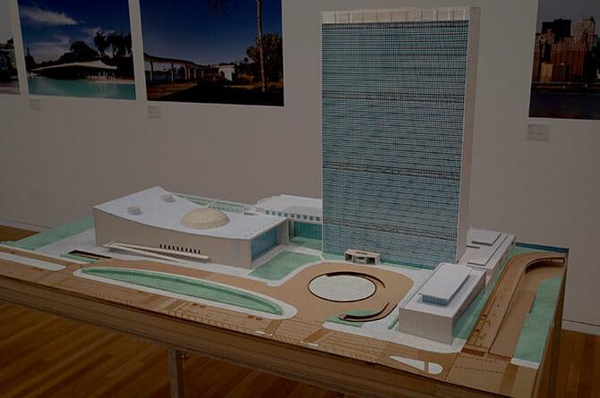 ル・コルビュジエと共同設計した国連本部ビル