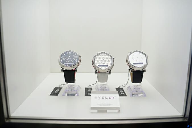 一見スタイリッシュなアナログ時計に見えるスマートウォッチ「VELDT SERENDIPITY」