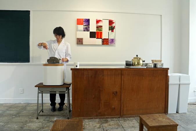 スマイルズ/「新潟産ハートを射抜くお米のスープ 300円