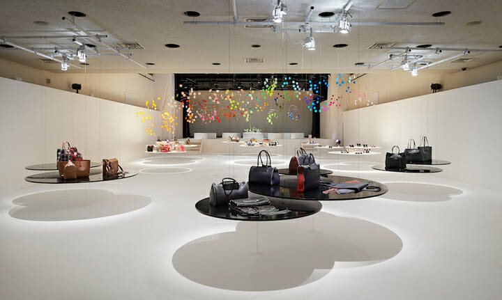 Installation for FURLA | dance (3)