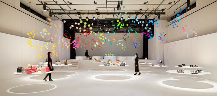 Installation for FURLA | dance (1)