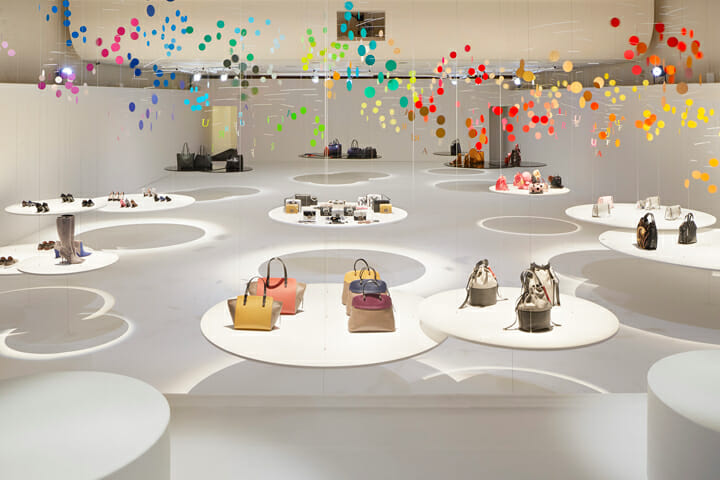 Installation for FURLA | dance (2)