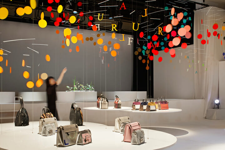 Installation for FURLA | dance (4)