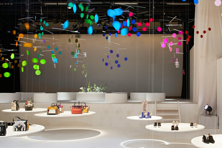 Installation for FURLA | dance (5)