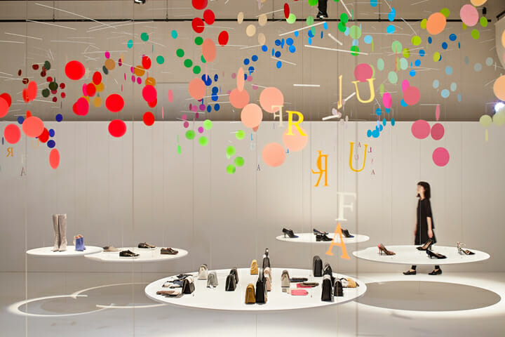 Installation for FURLA | dance