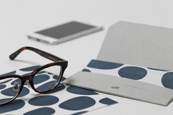 メガネが拭ける和紙懐紙 (1)