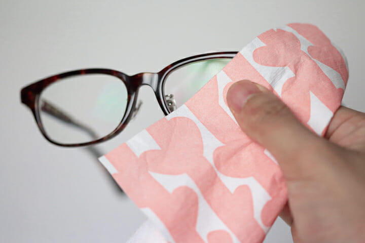 メガネが拭ける和紙懐紙 (2)