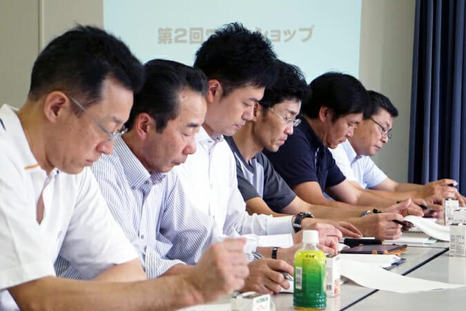 プロジェクト参加事業者の代表6名