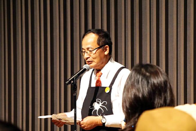 瀬戸内国際芸術祭総合ディレクターの北川フラム氏