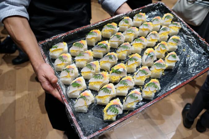 瀬戸内の郷土料理、、押し寿司