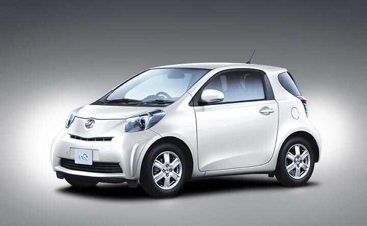 2008年度グッドデザイン大賞のトヨタ自動車株式会社、iQ(アイキュー)