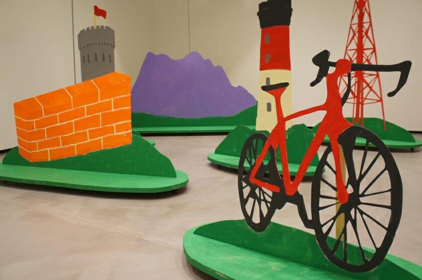 自分で風景を動かして楽しめる展示、ポール・コックス展「ローラースケープ」