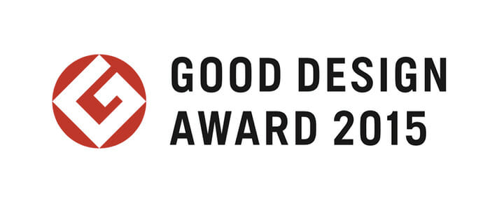 2015年度グッドデザイン賞ロゴマーク
