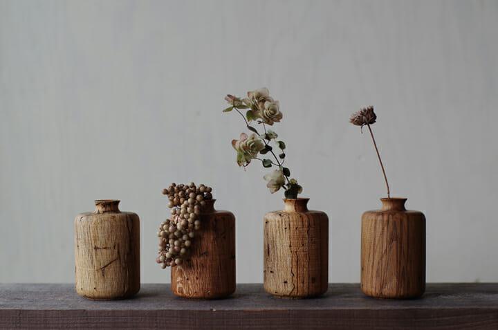 虫喰いの花器 (1)