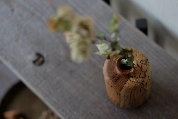 虫喰いの花器 (3)