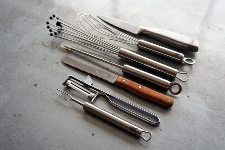 門倉氏所有のドイツのキッチン道具