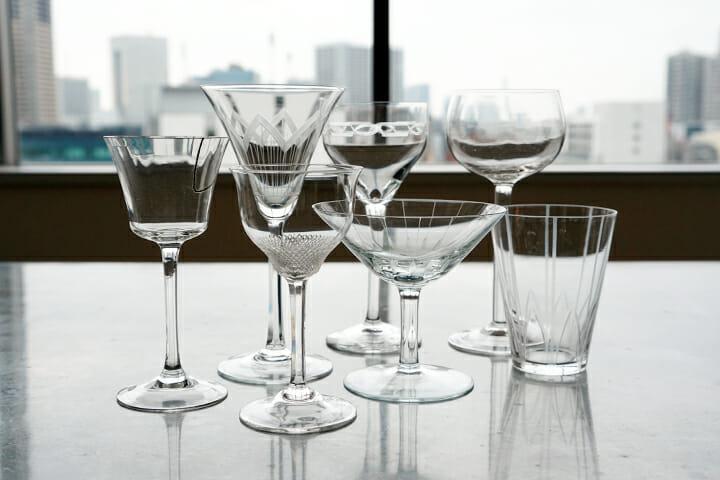門倉氏所有のドイツのワイングラス